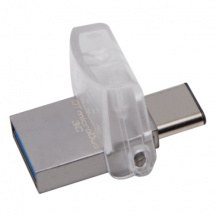 Duálny Flash Disk Kingston DataTraveler MicroDUO 3C 128GB, USB 3.1/USB-C, OTG (DTDUO3C/128GB)